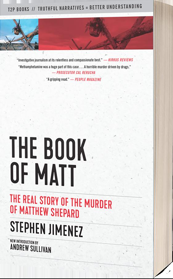 The Book Of Matt New Cover